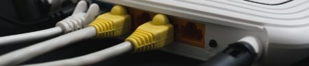 This is an image of a wireless fibre router