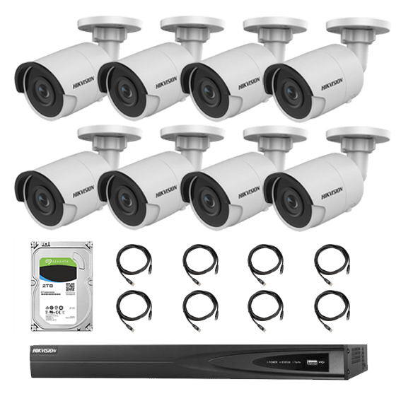 Hikvision 16CH IP Camera Bundle