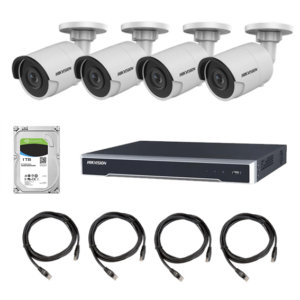 8CH Hikvision IP Camera Bundle Image