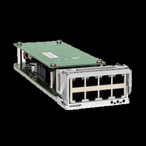 Netgear 8 x 10G BASE-T PoE+ Port Card (N-APM408P-10000S) Image