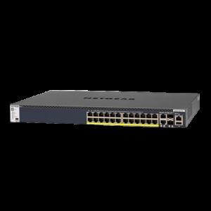 Netgear M4300-28G-PoE+ (N-GSM4328PB-100NES) Image