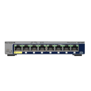 Netgear ProSafe GS108Tv2 Switch (N-GS108T-200GES) Image