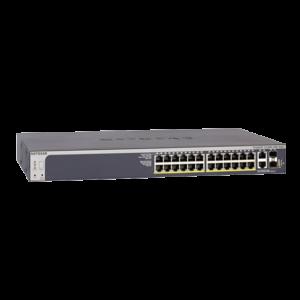 Netgear S3300-28X-PoE+ (N-GS728TXP-100NES) Image