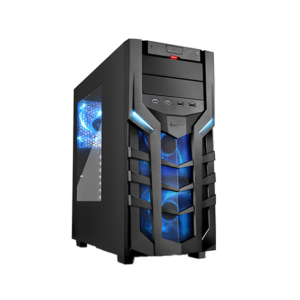 Blue DG7000 Sharkoon PC Gaming Case Image