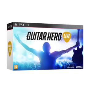Guitar Hero Live – Game + Guitar (PS3) Image