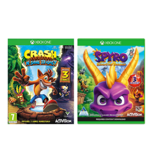 Remastered Trilogy Bundle Xbox One Image