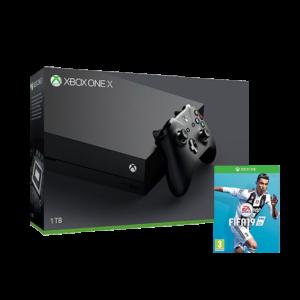 Xbox One X 1TB Console + FIFA 19 Image
